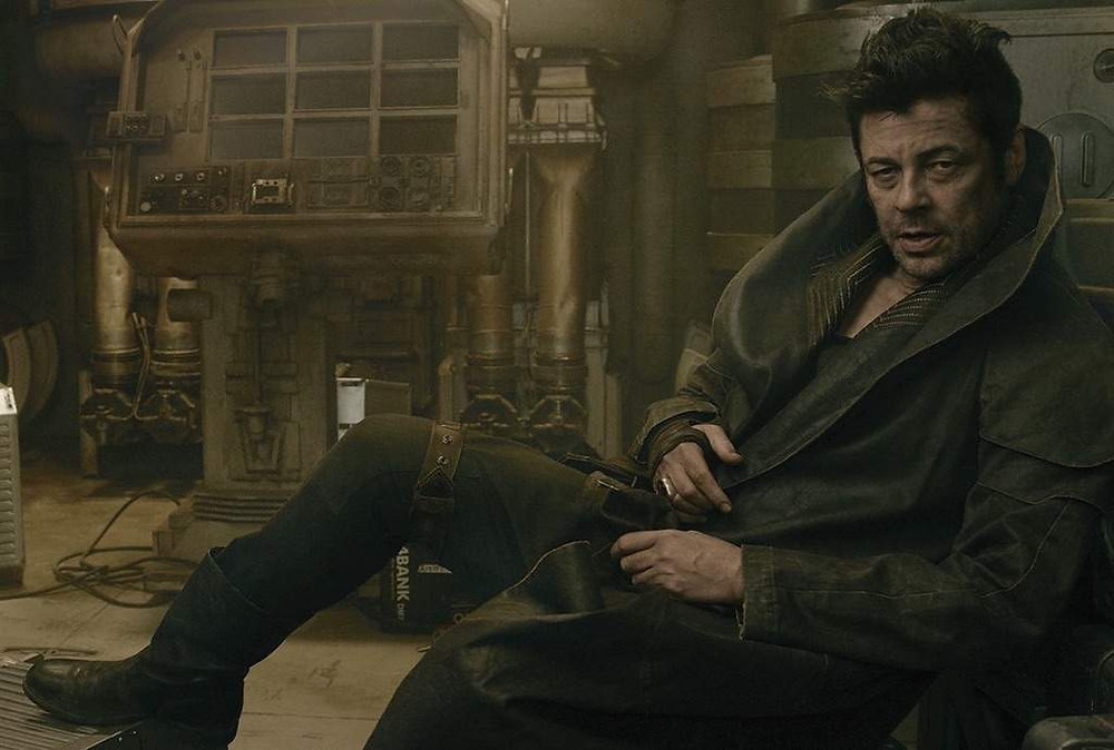 Benicio Del Toro rocked it, despite the crazy circumstances that brought him into the story!