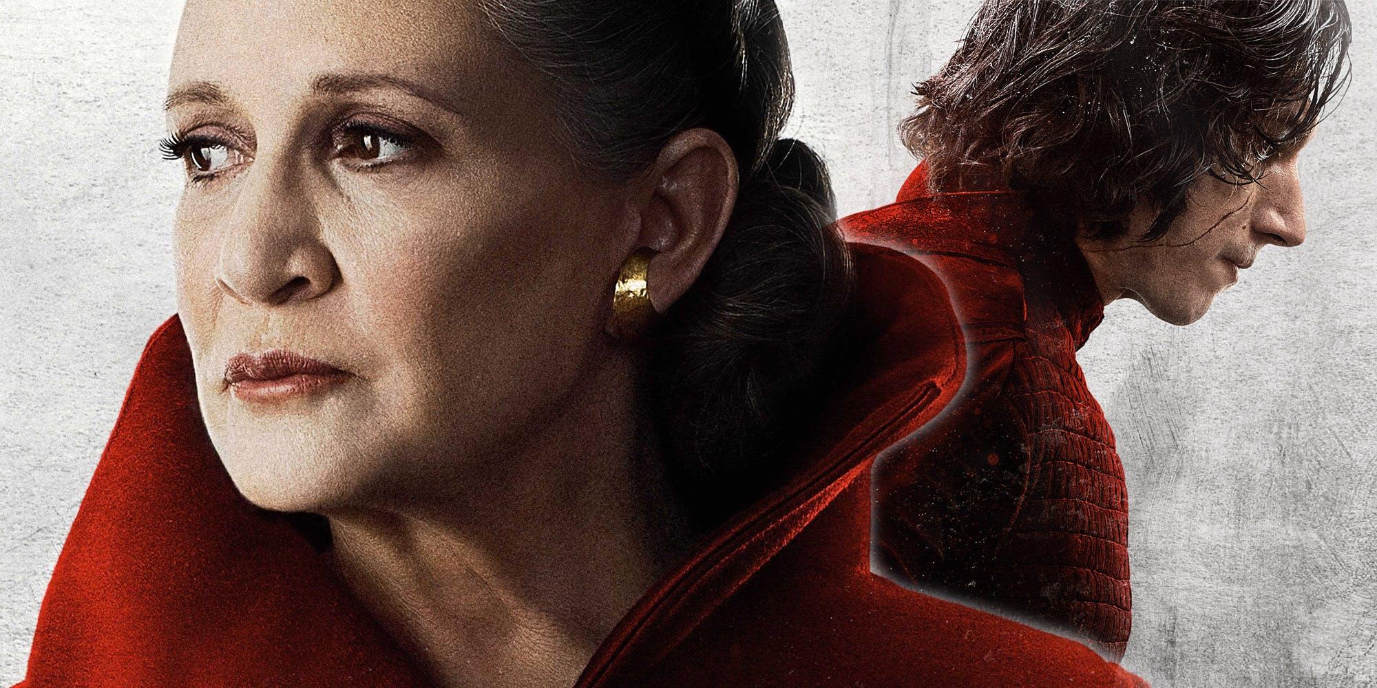 Leia and Kylo Ren