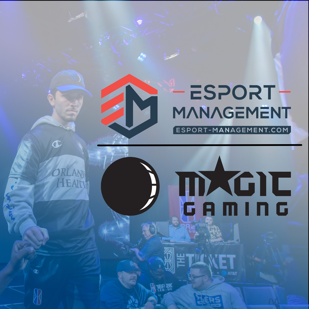 Become the next NBA2K pro - ESM becomes the official online platform of Magic Gaming's NBA 2K team!