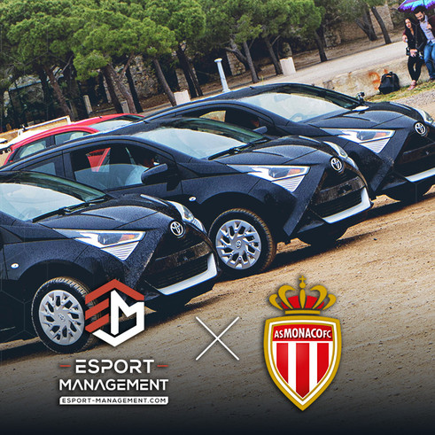 Rocket League IRL avec Esport-Management et l'AS Monaco !