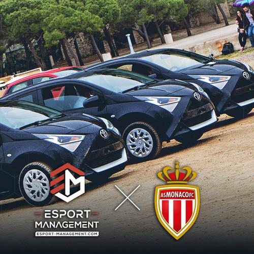 Rocket League IRL avec Esport-Management et l'AS Monaco !