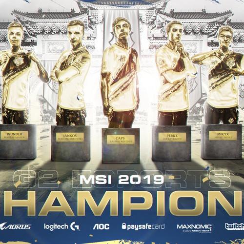 G2 Esports remporte le Mid Season Invitational !