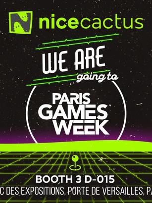 Venez nous voir à la Paris Games Week