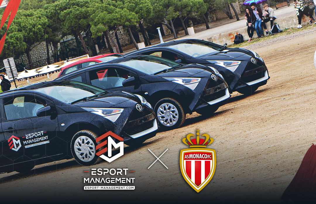 IRL Rocket League Event with Esport-Management and AS Monaco!
