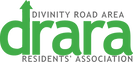 DRARA Logo Green transparent background.