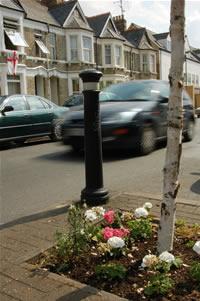 DRARA street flower beds