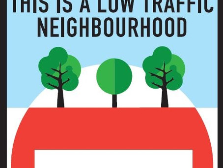 Building a Low Traffic Neighbourhood: invitation to a community meeting
