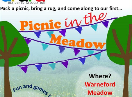 DRARA Picnic in the Meadow - Sunday 23 June!