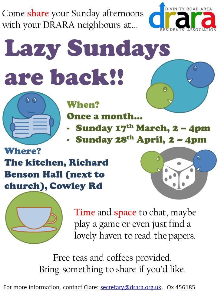 Lazy Sundays poster