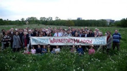 Warneford Meadow town green campaign