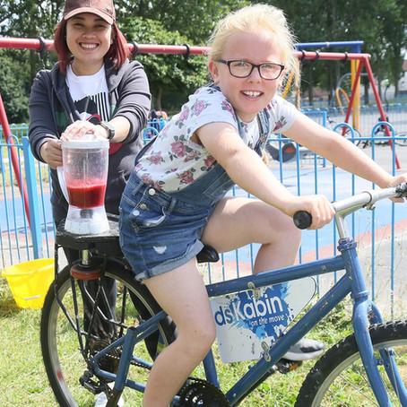 Kids Kabin helps curb cabin fever!