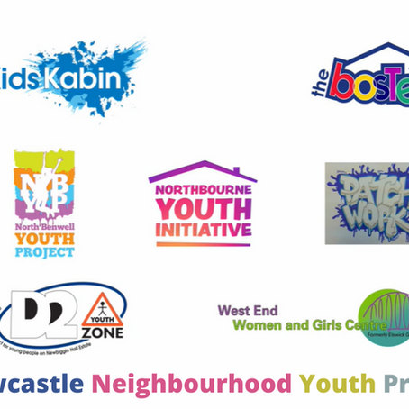 Thank you to our neighbourhood youthwork funders!