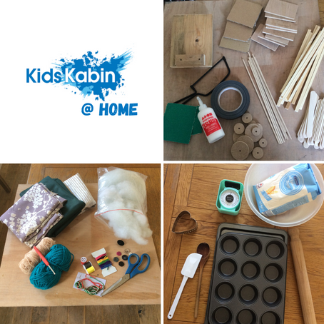 Home creativity kits – supporting hundreds of families thanks to the Sage Foundation