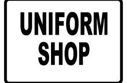 Uniform Shop:  Closed in December and January