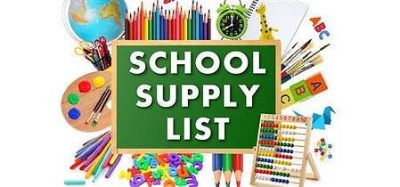 WMS School Supply List