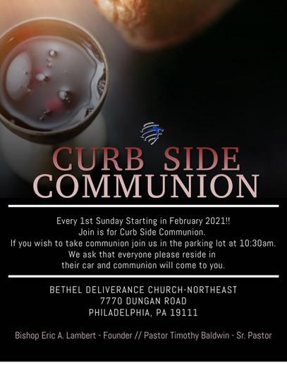 Curb Side Communion