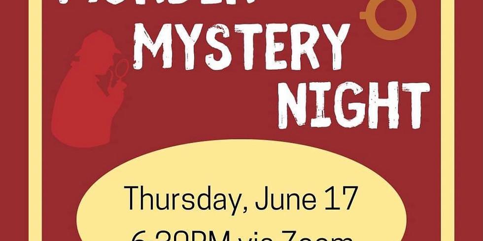 CSA Murder Mystery Night