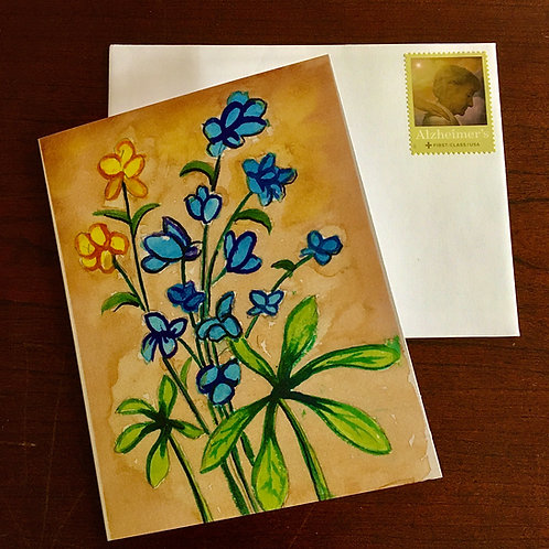 Forget-Me-Not Notecards (10 count)