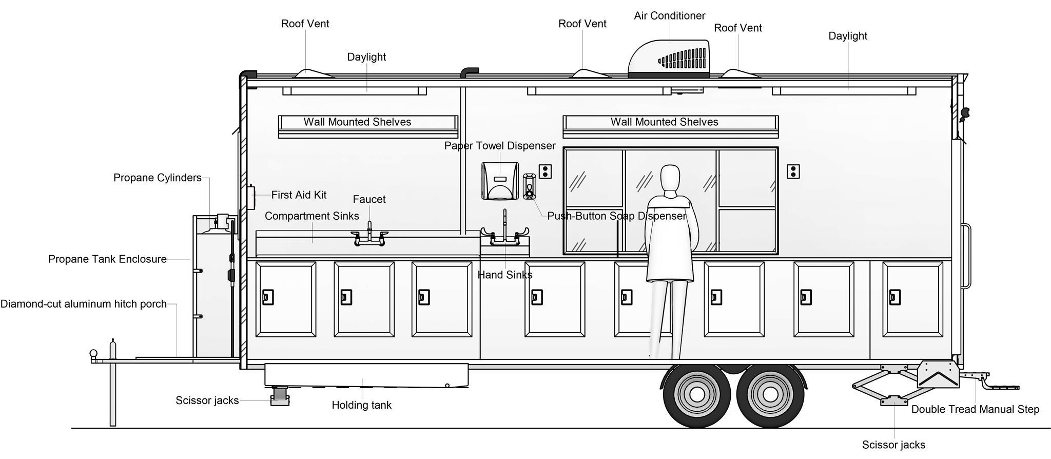 20' - Разрез - Interior Passenger Side V