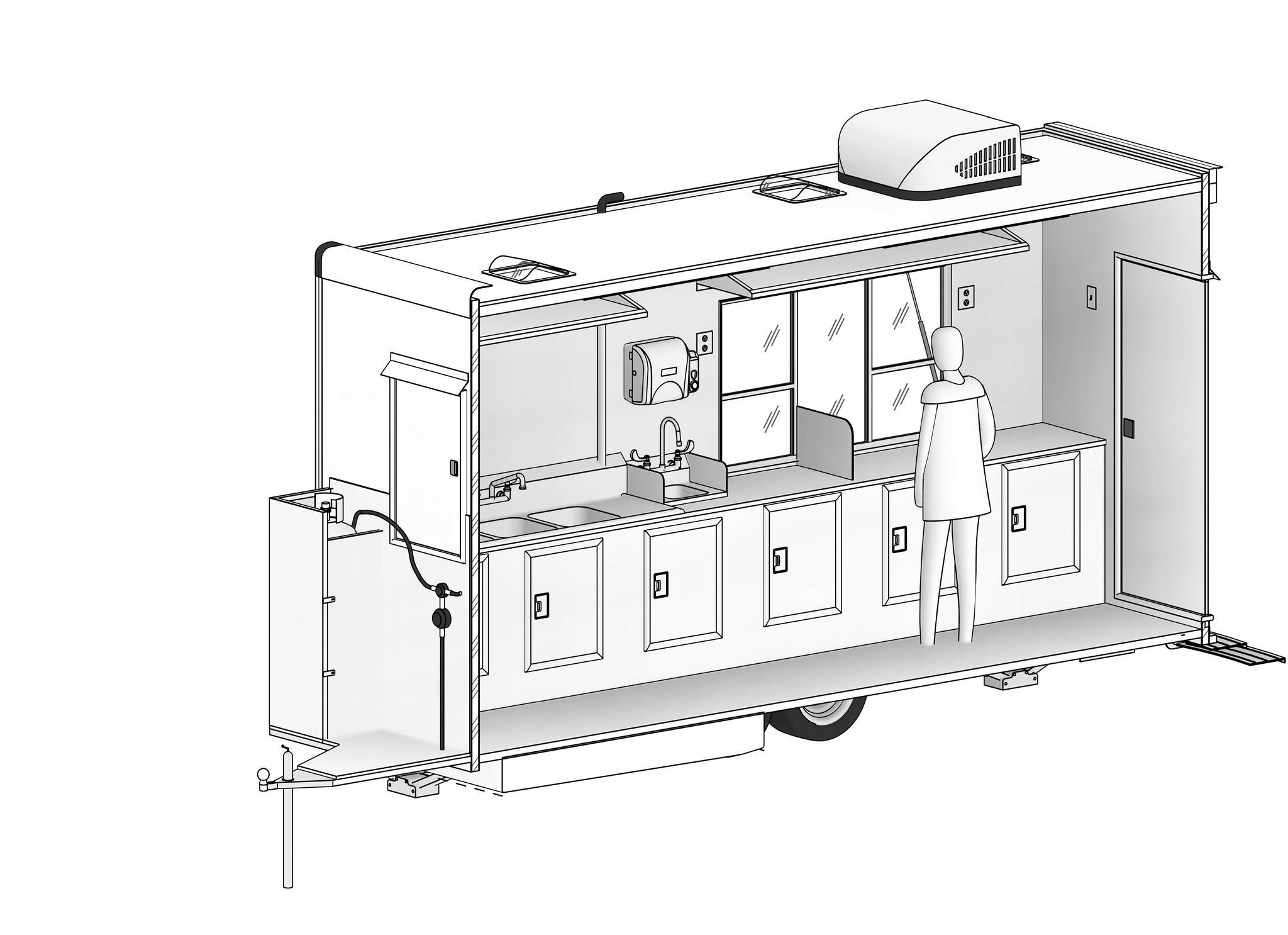 16' - 3D вид - Axonometric view 2