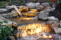 Omaha pondless waterfall