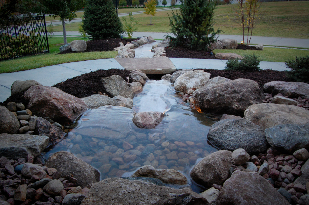 Omaha pondless waterfalls
