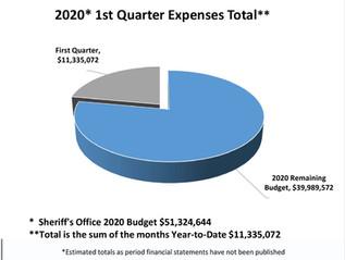 2020 1st Quarter Total Expenses