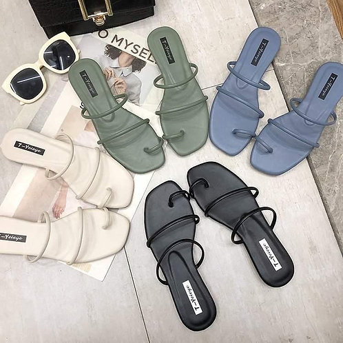 Meredith Strappy Flats