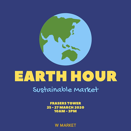 Earth Hour Sustainable Market