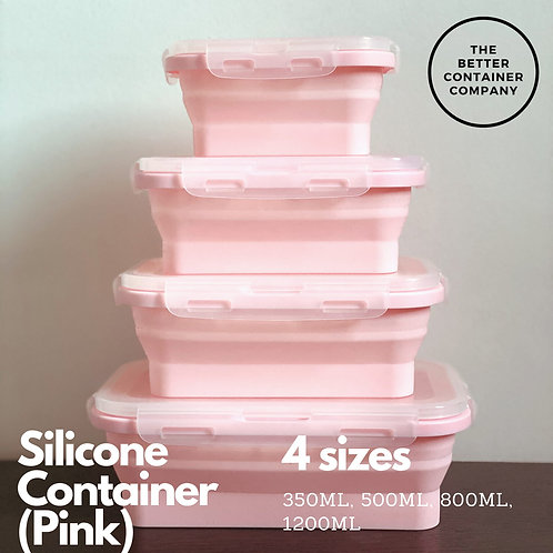 Silicon Collapsible Container