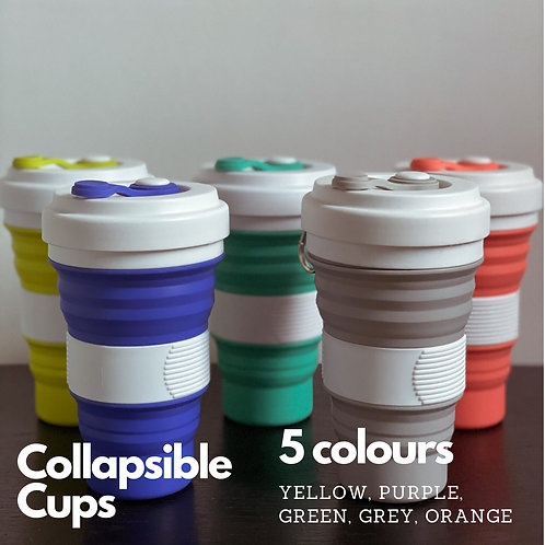 Silicon Collapsible Cup
