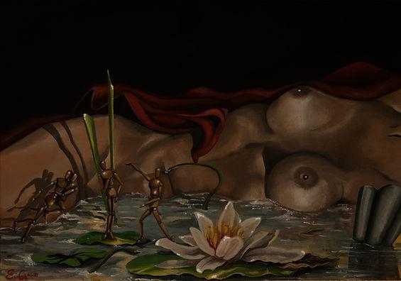 contemporany art, emanuela giacco, neosurrealismo, surrealismo, cosmogonia I