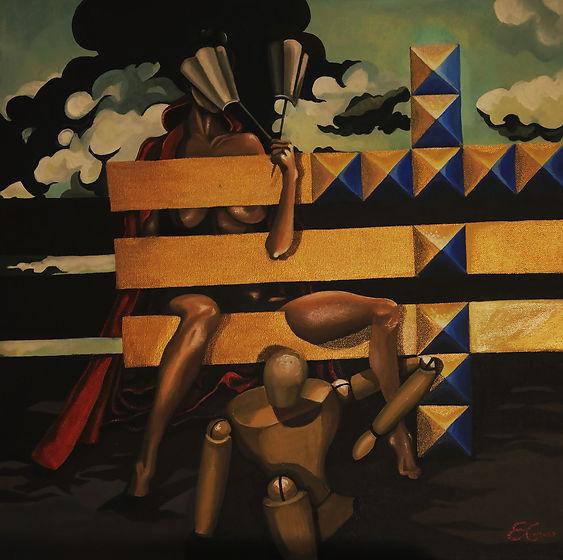 contemporany art, emanuela giacco, contemporany art, neosurrealismo, surrealismo, hide true
