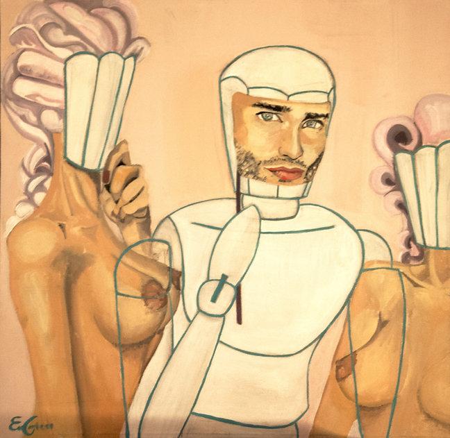 contemporany art, emanuela giacco, contemporany art, neosurrealismo, surrealismo, le schiave di illusione