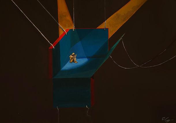 contemporany art, emanuela giacco, neosurrealismo, surrealismo, conoscerai gli dei