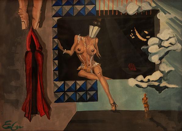 contemporany art, emanuela giacco, contemporany art, neosurrealismo, surrealismo, desillusion