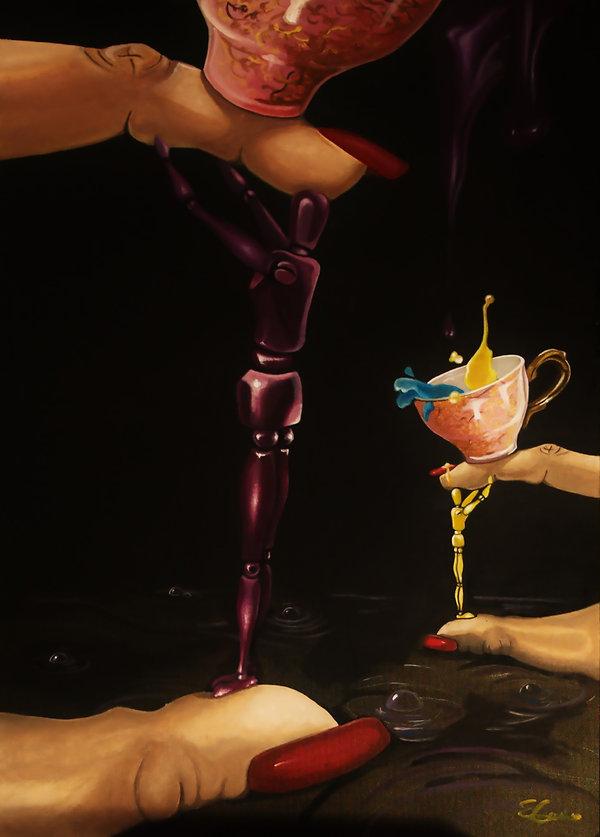 contemporany art, emanuela giacco, contemporany art, neosurrealismo, surrealismo, super ego