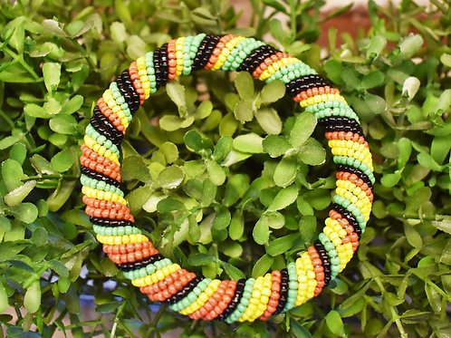 Tanzanian Flag Bracelet