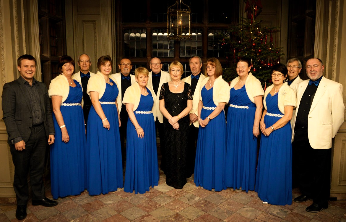 Capriccio Singers Wirral Choir at Thornton Manor 12.12