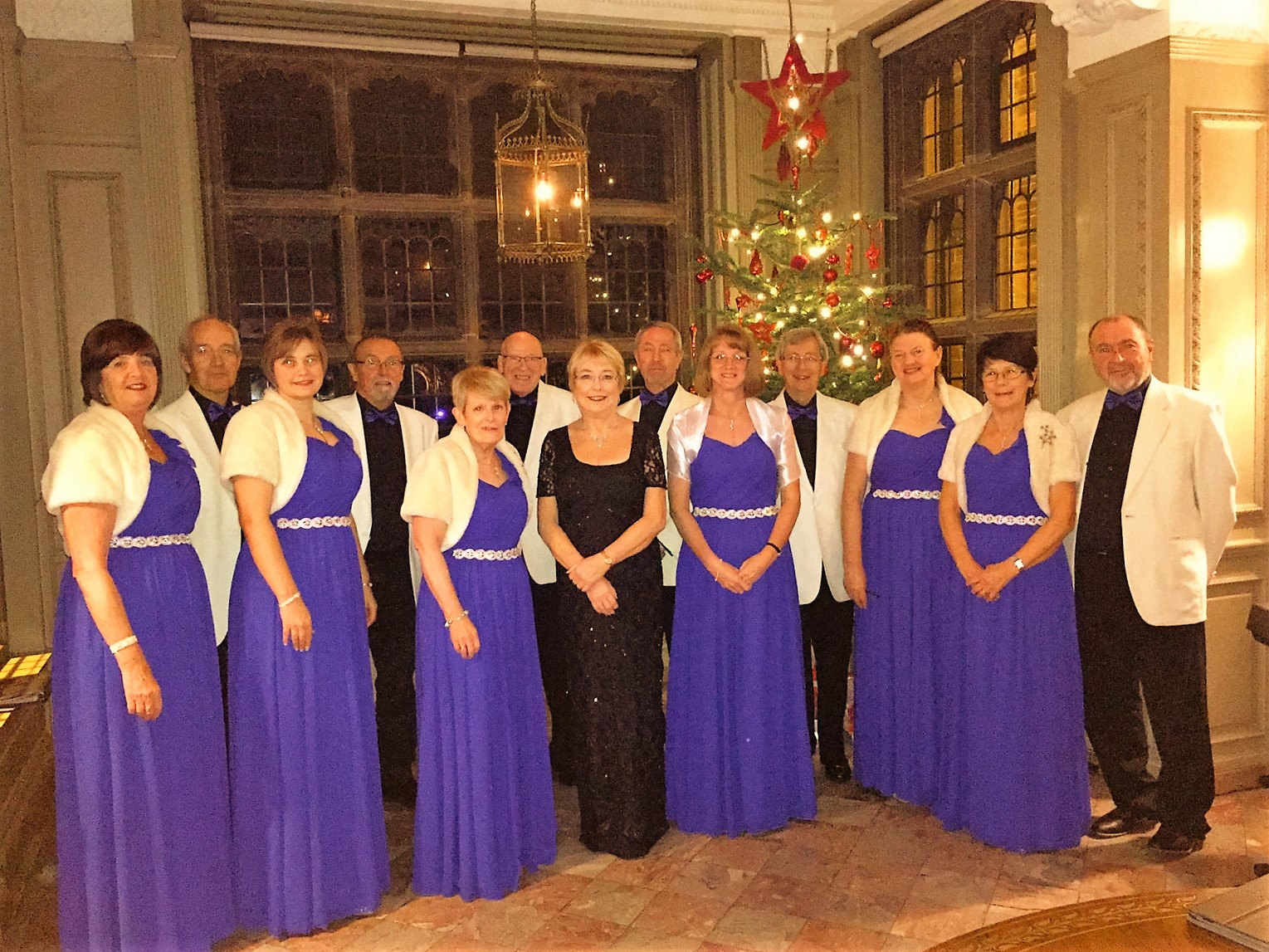 Wirral Choir Capriccio Singers Thornton Manor 12.12.15