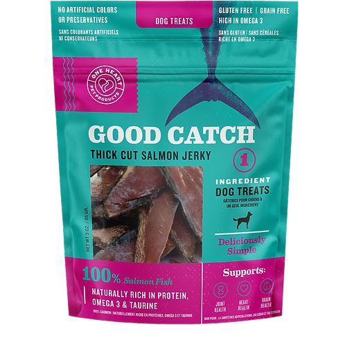 Good Catch! Salmon Jerky