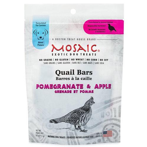 Mosaic's Quail Bars