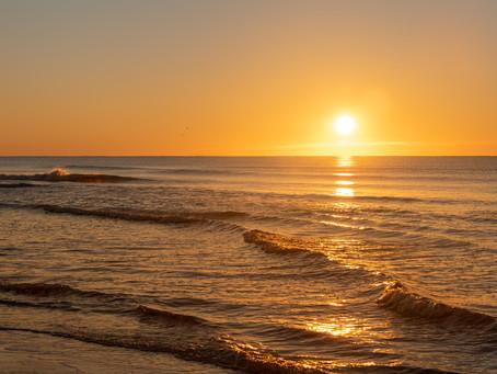 Healing Powers of a Beach Sunrise