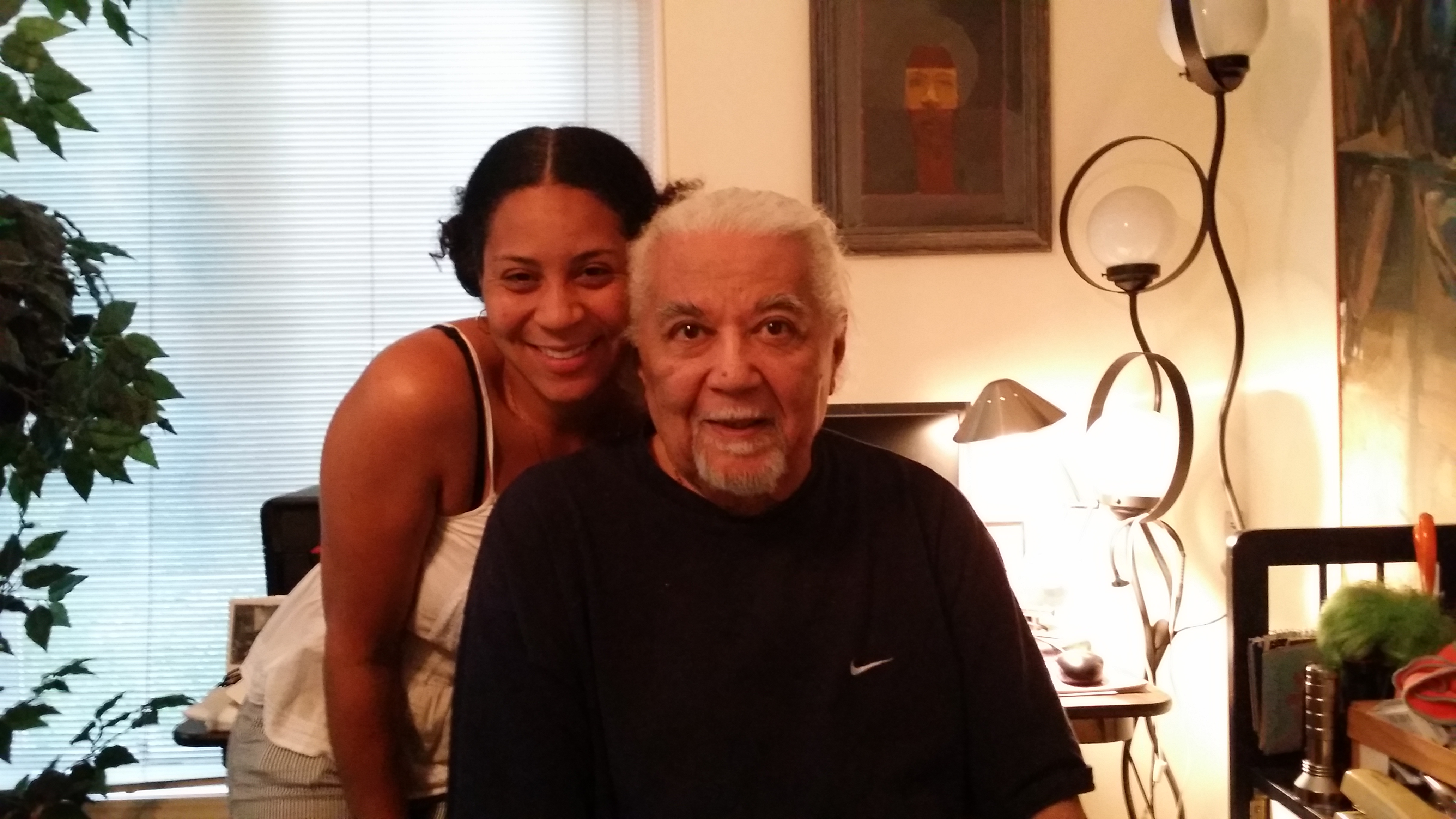 Dr. Earle Robinson Jr. and Becky