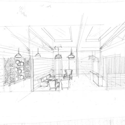 Lounge and Wine Tasting Area