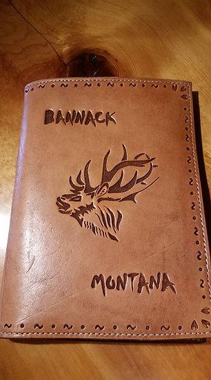 Bugling Elk Notebook Organizer Cover
