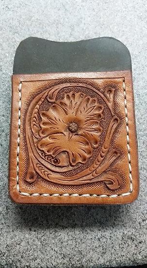 Western Floral Money Clip