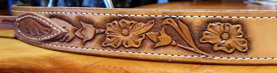 western rose belt detail