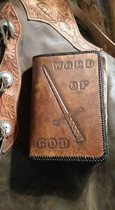 Bible cover and chaps This Bible cover h