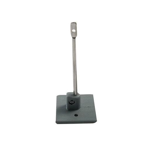 Bird Wire Post RVS + stick-on Base 95 mm (set 10)